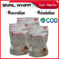 INTENSIVE WHITENING SOAP SNAIL WHIPP SOAP/SABUN PENCERAH 120g