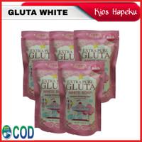 SABUN PEMUTIH BADAN EXTRA PURE GLUTA WHITE SOAP ORIGINAL 80g