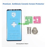 Samsung Note 8 / Note 9 Antibiosis Ceramic AntiShock Screen Protector