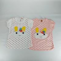 Kaos Anak Perempuan Model Baru Blus Import Kualitas Dan Model Bagus m