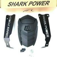 Mudguard Shark Power Yamaha Aerox 155 / Mud Guard Mud Flap Aerox 155