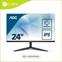 Monitor 24 Inch AOC 24B1XHS IPS Full HD HDMI D-Sub For Komputer PC