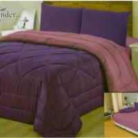 Vallery Bedcover Emboss King 180 Corak Lavender