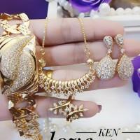 Xuping Set Perhiasan Lapis Emas 24k F109