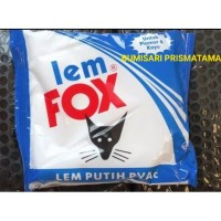 LEM FOX PUTIH 350 Gr BIRU SLIME / LEM KERTAS / LEM KAYU