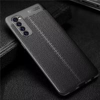 Case Reno 4 Pro indonesia Oppo Reno4 casing soft motif leather Ori