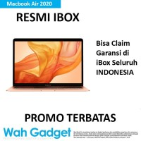 "Macbook Air 2020 13"" 256GB/512GB Garansi 1 Tahun - 256GB, Silver iBox"