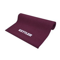 Matras KETTLER Yoga Pilates Senam Original Import Silat - 4mm, burgundy