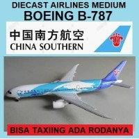 DIECAST MINIATURE MODEL PESAWAT AIR FRANCE BOEING B 777-300 - CHINA SOUTHERN