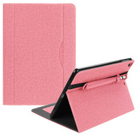 iPad Air 2 Denim Book Smart Flip Case / Cover w.Pencil Holder