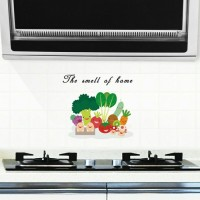 "Stiker Wallpaper Dinding Dapur Anti-Minyak (""The Smell of Home"")"