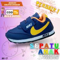 Sepatu Anak Laki Laki Sneaker Sport Olahraga Sneakers Balita Cowok - 24