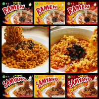 Samyang + Ramen + Vegetarian + Spicy Hot