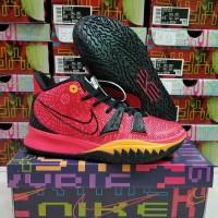 Sepatu Basket Nike Kyrie7 High Red Gold