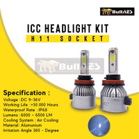 Lampu Led Headlamp H4 H7 H11 9005 9006 9012 ICONE MERK ICC