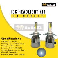 Lampu Led Headlamp H4 ICONE MERK ICC