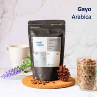 ARABIKA ACEH GAYO PREMIUM 250 GR COFFEE BEAN BIJI KOPI - BIJI