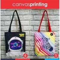 tas kanvas printing,tote bag print,tas bukan korea produk lokal murah