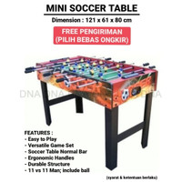 Mini Soccer Table / Foosball Table / Table Football - ORIGINAL