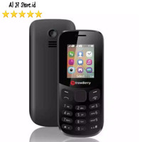 Feature Phone Strawberry ST338 King Dual Sim Hp Senter Musik Camera