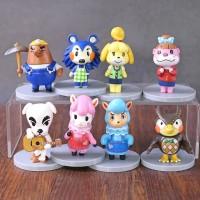 Figure Animal Crossing Set 8 Nintendo Game