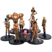 Action Figure One Piece Film Gold Set 9 Strawhat Pirates Mugiwara Crew