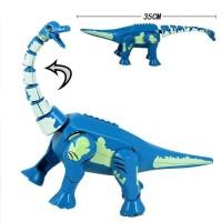 Lego Dinosaurus Jurassic World Brachiosaurus Mainan Brick Big Figure