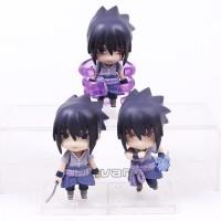 Nendoroid Sasuke Action Figure Set Of 3 Anime Naruto Movie