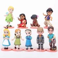 Figure Disney Baby Set 9 Mainan Cake Topper Kue Miniatur