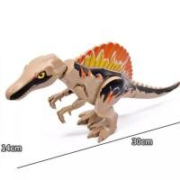 Lego Dinosaurus Jurassic World Spinosaurus Brick Figure Mainan