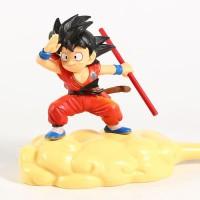 Kid Goku with Flying Nimbus / Awan Kinton Action Figure Dragon Ball