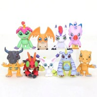 Digimon Adventure Action Figure Set Isi 9 Pokemon