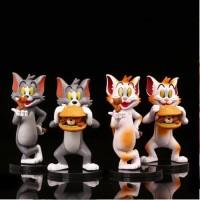 Tom And Jerry Classic Cartoon Figure Set Isi 4