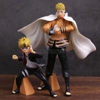 Naruto Boruto Shinobi Relation Action Figure Set Of 2 Mainan Anak