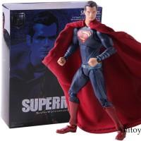Shf Superman Man Of Steel Justice League Action Figure DC Comics