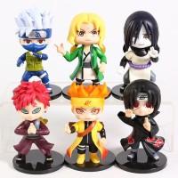 Naruto Tsunade Orochimaru Gaara Figure Set 6