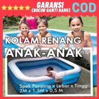 Kolam Renang Karet Anak/Keluarga Jumbo Besar Murah Ukuran 2 Meter