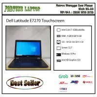 Dell latitude E7270 Touchscreen |Core i7-Gen 6 |Camera - RAm 8-SSD 256