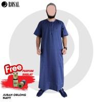 Free Parfum (NON ALKOHOL) Jubah Oblong Baju Muslim Pria Gamis Pria