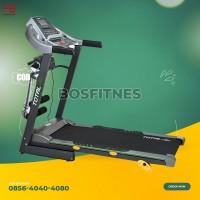 alat olahraga fitnes treadmill elektrik 3 fungsi bfs 288 total 2 hp