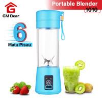 GM Bear Portable Blender dengan 6 Mata Pisau