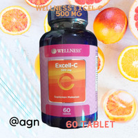 WELLNESS EXCELL C 500 MG 60 TABLET