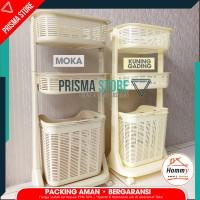 Hommy Laundry Basket Rak Keranjang Baju Kotor Sherlent 6900