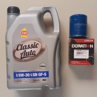 Oli Mobil Murah Top 1 Clasicc Auto 3.5 Liter Gratis Filter Oli