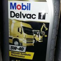 Oli Mobil Delvac 1 5W-40 1L Fully Synthetic Genuine Oil
