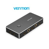 HDMI KVM Switch USB 2.0 Printer Keyboard Mouse - 2 In 1 Out Vention