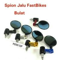 Spion Jalu Bulat Cafe Racer Cnc / Spion Jalu Bar Bulat Cnc Full Retro