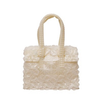 Ellipse Bag Mini in White