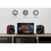 HiVi Swans D1100 Powered 2.0 Wireless Bookshelf Speakers - Kabel Standard