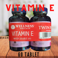 BUY 1 GET 1 Wellness Natural Vitamin E 400IU Water Soluble 60 Softgel